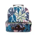 Variegated Leaves Suitcases (sold separately)