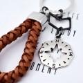 Leather men's key ring gr904359